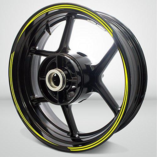 Vector Outer Rim Liner Stripe for Suzuki GSX 1400 Fluorescent Yellow