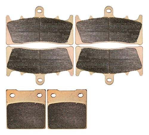 CNBK Sintering H-H Brake Pad Set fit SUZUKI Street Bike GSF1200 GSF 1200 cc 1200cc S Bandit 2001 2002 01 02 6 Pads