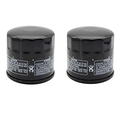 Cyleto Oil Filter for SUZUKI GSXR400 1990-1992  GSXR600 1997-2015  GSXR600W 1992-1993  Pack of 2