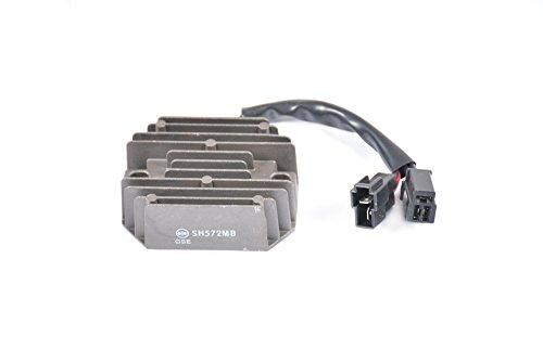 Tencasi Voltage Regulator Rectifier For Suzuki RGV250 Gamma 1988-1996 GSF400 Bandit 1991-1993 GSX400R 1987 GSXR400 1990-1994