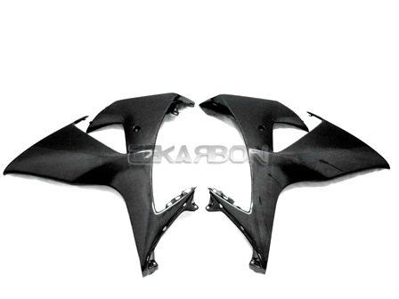 2009 - 2015 Suzuki GSXR 1000 Carbon Fiber Large Side Fairings
