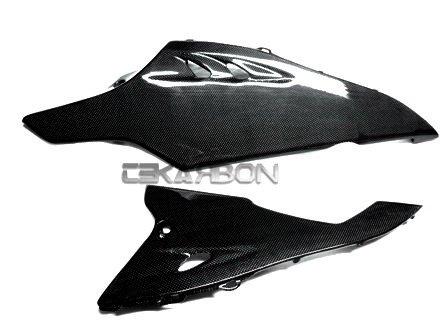 2009 - 2015 Suzuki GSXR 1000 Carbon Fiber Lower Side Fairings