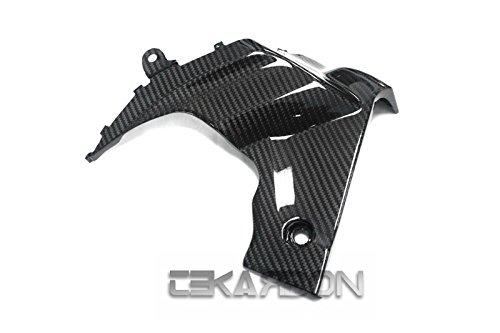 2009 - 2015 Suzuki GSXR 1000 Carbon Fiber Side Fairing Panels LH - Twill