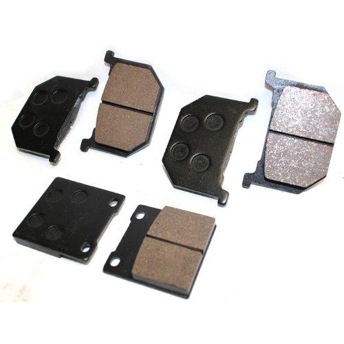 Caltric FRONT REAR BRAKE Pads Fits SUZUKI GS850 GS 850 GS850G GS 850G GS850GL GS 850GL 1980-1983 FRONT REAR