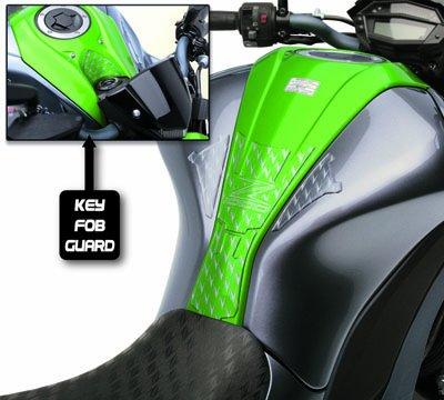 2014-2016 Genuine Kawasaki Z1000 Tank Pad And Key Fob Guard 168tpt-0075