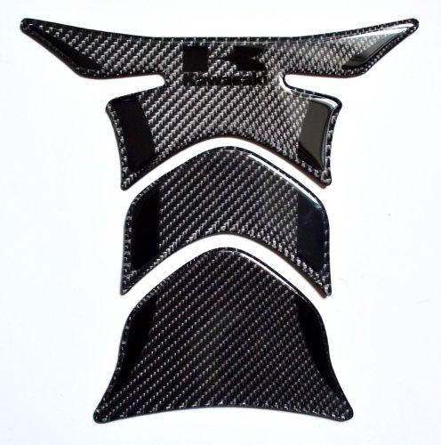 Kawasaki Stealth effect real Carbon Fiber tank Protector pad Decal Sticker trim