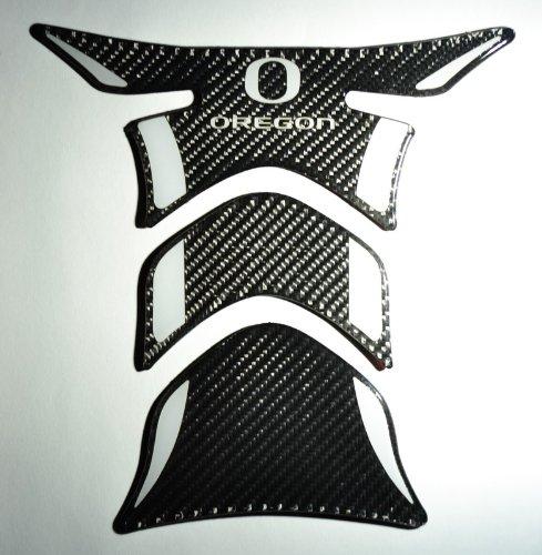 OREGON DUCKS Yamaha Kawasaki Suzuki Triumph Ducati real Carbon Fiber tank Protector pad Decal Sticker trim