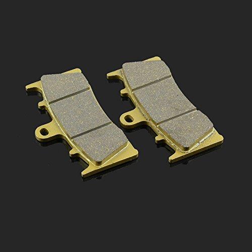 JFG RACING 89x53x83MM 1 Pair Front Brake Pads For KAWASAKI ZX600 ZX7R ZX9R ZX12R ZX1200 ZRX 1200 R JAYBRAKE SUZUKI GSXR 750 GSXR 1000 GSX 1400