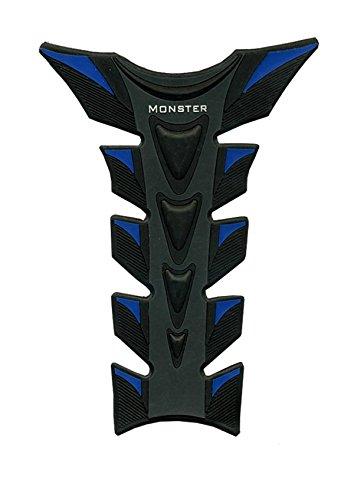 Blue Black Motorcycle Racing 3D Rubber Decal Fiber Gas Tank Protector Pad Sticker Fit For Aprilia FALCO SL1000 2000 2001 2002 2003 2004