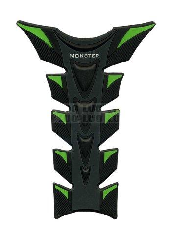 Green Black Motorcycle Racing 3D Fiber Gas Tank Protector Pad Sticker Rubber Decal For KAWASAKI NINJA 250R 2008 2009 2010 2011 2012