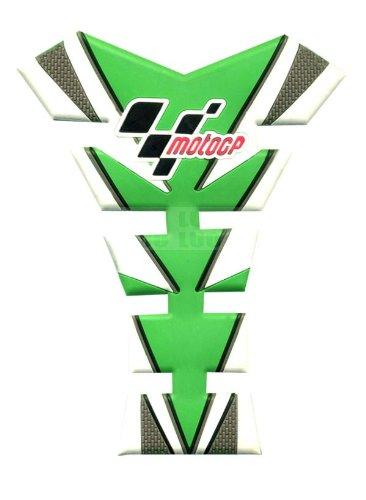 Motorbike Racing Green White 3D Fiber Gas Tank Protector Pad Sticker Rubber Decal For Suzuki GSXR1000 2005-2006