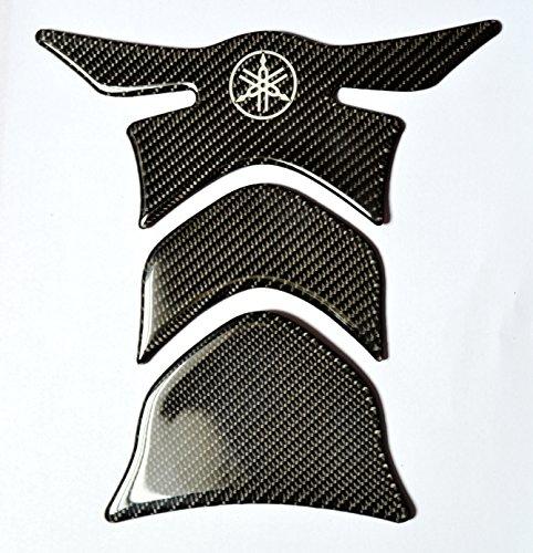Carbon Fiber Motorcycle Tank Protector Pad For Yamaha Fjr Yzf R1 R6 R-1 Fz1 Fz8 Fz6