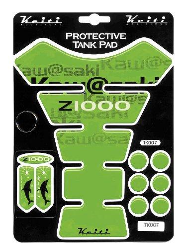 Keiti Tank Protector - Z1000  Green TK007