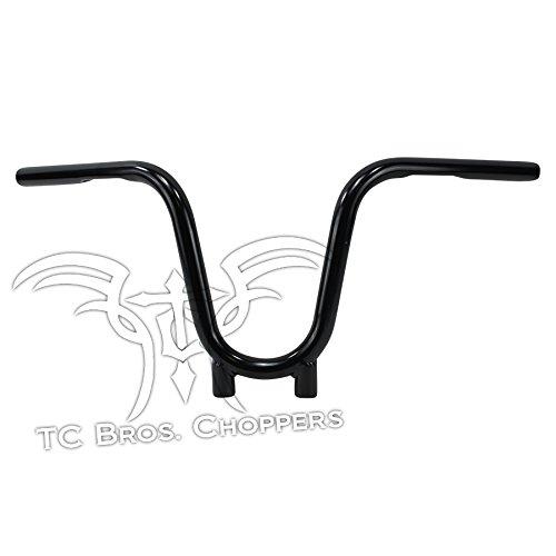 TC Bros 1 Bootlegger Handlebars - Black Dimpled