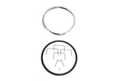 V-Twin 33-0525 - 7 Headlamp Chrome Outer Rim