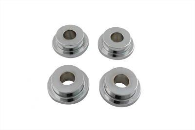 V-twin Chrome Solid Mount Riser Kit 28-0675