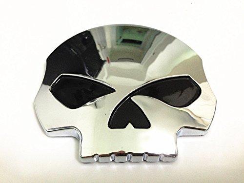 3d Chrome Skull Skeleton Fuel Gas Tank Pad Sticker Decal for Suzuki Gsxr Honda Cbr Kawasaki Zx6r Yamaha R1 R6 Yzf