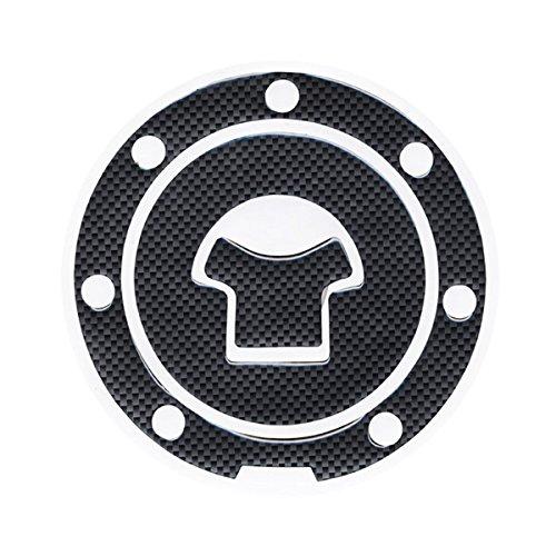 Motorbike Racing Fiber Fuel Gas Cap cover Tank Protector Pad Sticker Decal For Honda CBR250 MC19 MC22 1988-1997