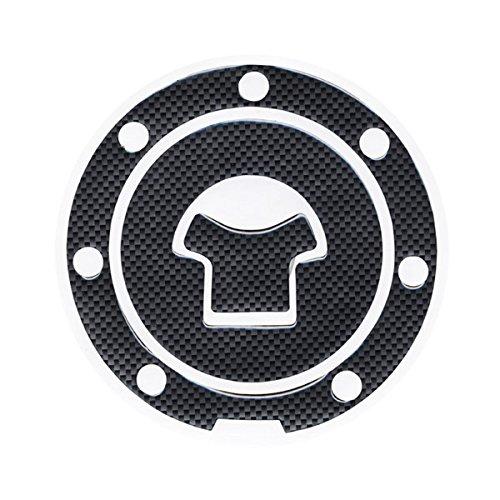 One Pcs Motorbike Fiber Gas Cap cover Fuel Tank Decal Pad Gas Cap cover Protector Sticker For Honda CBR 600 F2  F3  F4  F4i  F5
