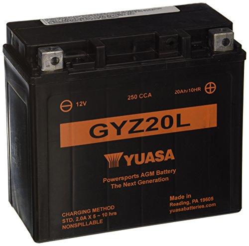 Yuasa Yuam720gz Gyz20l Battery