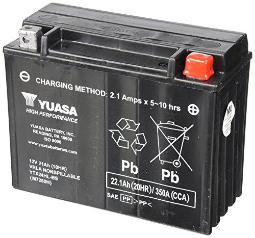 Yuasa Yuam7250h Ytx24hl Battery