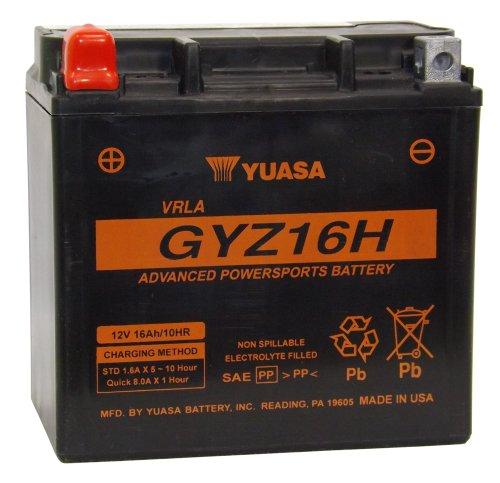 Yuasa (yuam716gh) Gyz16h Activated Battery