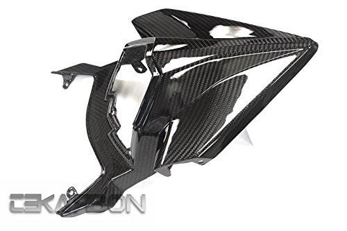 Tekarbon Replacement for Tail Fairing Kawasaki H2 H2R 2015-2019 Carbon Fiber 2x2 Twill Weave