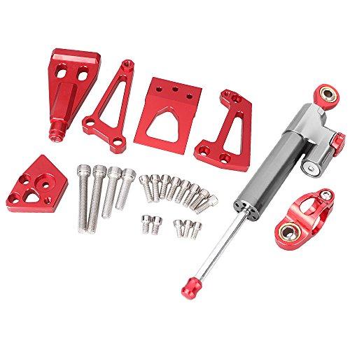 GZYF CNC Aluminum Steering Damper Set WBracket Kits For Kawasaki ER6N 2009 2010 2011