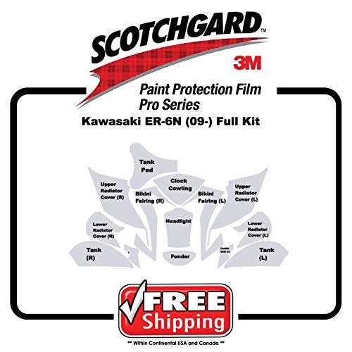 Kit for Kawasaki ER6N 2009-11 - 3M 948 PRO SERIES Scotchgard Paint Protection
