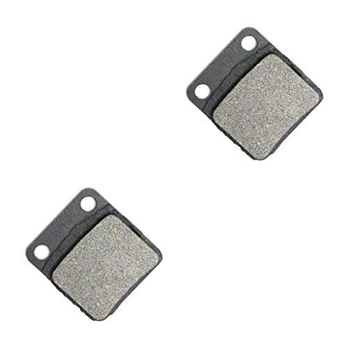 CNBK Rear Brake Pads Semi-Metallic for PGO ATV 250 SS Bugrider Single Seat 1 Pair2 Pads