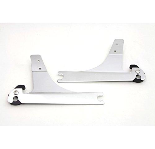 V-Twin 50-0271 - Sissy Bar Detachable Side Plates
