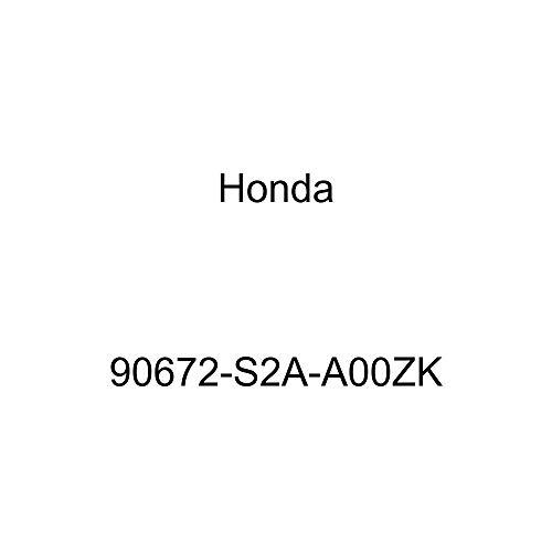 Genuine Honda 90672-S2A-A00ZK License Plate Cap