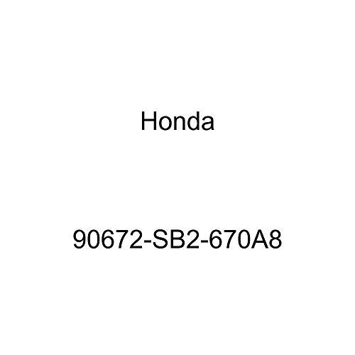 Genuine Honda 90672-SB2-670A8 License Plate Cap
