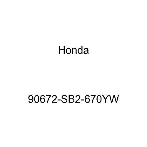Genuine Honda 90672-SB2-670YW License Plate Cap