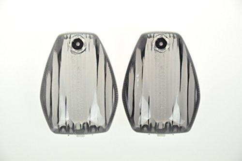 Topzone Smoked Motorcycle Indicators Turn Signal Lens For Honda 2001-2007 Cbr600-Cbr1000  Honda Sportbikes European Model Only