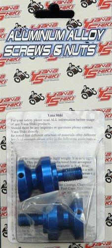 YANA SHIKI YANASHIKI - Swing Arm Spool Blue Suzuki Honda Sport Bikes Product code SAS201BU