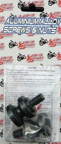 YANA SHIKI YANASHIKI - Swing Arm Spool Gun Metal Suzuki Honda Sport Bikes Product code SAS201GM