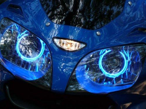Honda VFR 800 VFR800 04-05-06-07-08-09-10-11-12-13 CCFL Demon Halo Angel Eyes Kit