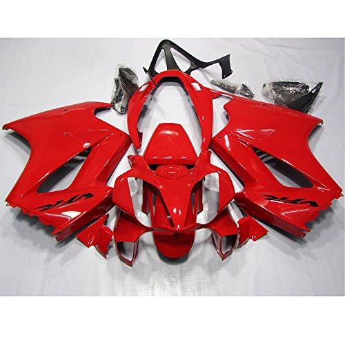 ZXMOTO Red Painted Fairing Kit for Honda VFR 800 2002 - 2012
