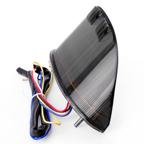04-07 Honda CBR 1000 RR 03-06 CBR 600 RR Integrated LED Smoke Tail Light