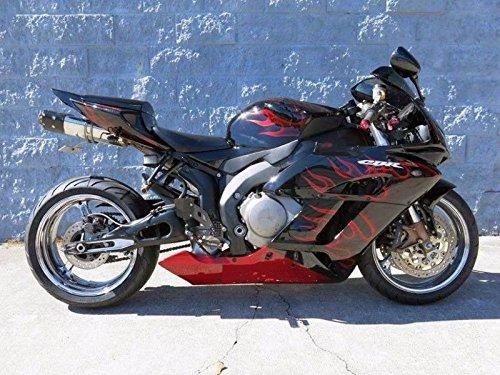 Black Red Fairing Bodywork Injection for 2004-2005 Honda CBR 1000 RR 1000RR CBR1000RR
