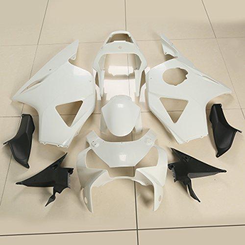 XFMT Motorcycle White Unpainted ABS Plastic Fairing Cowl Bodywork Set For Honda CBR900RR CBR 900 RR 954 954RR 2002-2003