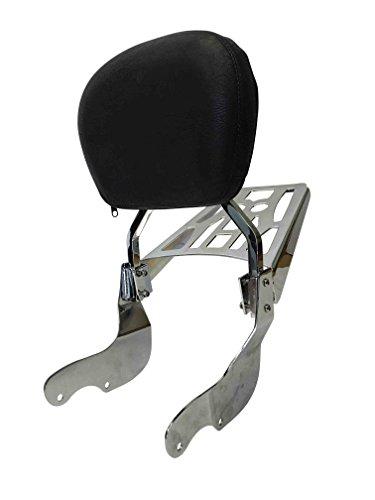 Contoured - Sissy Bar Backrest Luggage Rack for Victory Vegas  Kingpin
