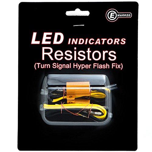 Krator Led Bulb Load Resistors Flash Turn Signal Fix For Victory Vegas Vision Kingpin Deluxe Tour Ness