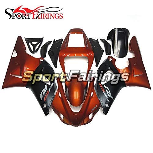 Sportbike Fairings ABS Plastic Injection Dark Orange Black Complete Motorcycle Fairings For Yamaha R1 YZF1000 R1 1998 1999 98 99 Body Kit
