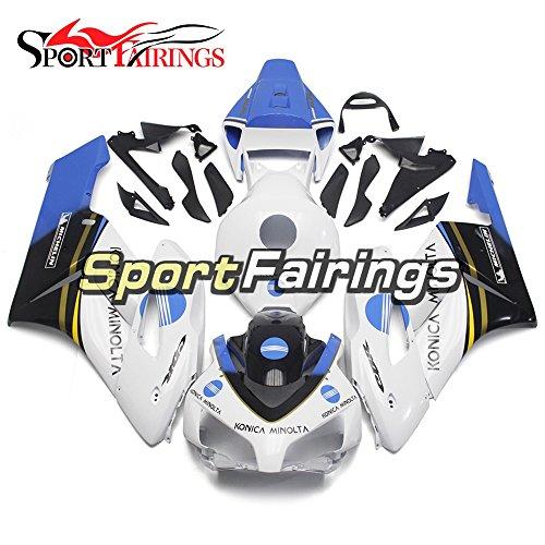 Sportbikefairings ABS Plastics Injection White Blue Sportbike Fairing Kits For Honda CBR1000RR cbr1000rr Year 2004 2005 New Cowlings