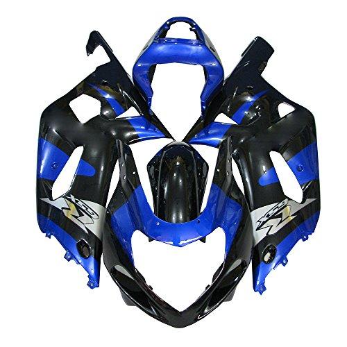 Bike Plastic Fairing Kit for Suzuki GSXR600750 K1 2001 2002 2003 Injection Mold Bodywork