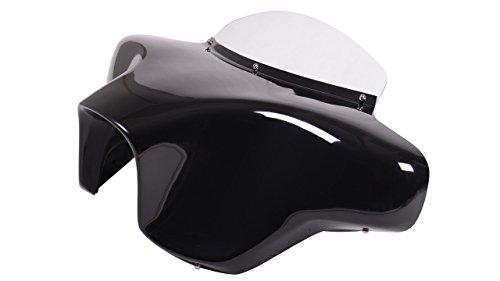 Vector Batwing Fairings F7-4 Yamaha V Star 1300 fiberglass batwing fairing with 4x5 speaker cutouts