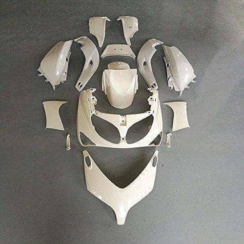 ZXMOTO Unpainted Motorcycle Bodywork Fairing Kit for YAMAHA TMAX500 T-MAX500 2001-2007