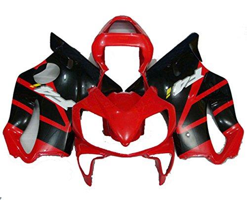 Red Black Fairing Kit for Honda 2001 2002 2003 CBR600 F4I Kit Bodywork Plastic